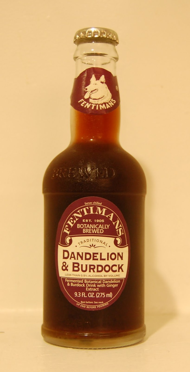 Dandelion & Burdock...one of the few sodas I really like ♥ (and World Market sells this in the States!)