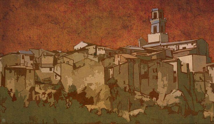 Pitigliano. Toskana / ps, ca. 45x26 cm, 2015