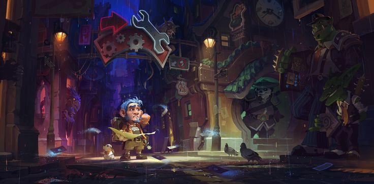 #warcraft #gnome #hearthstone