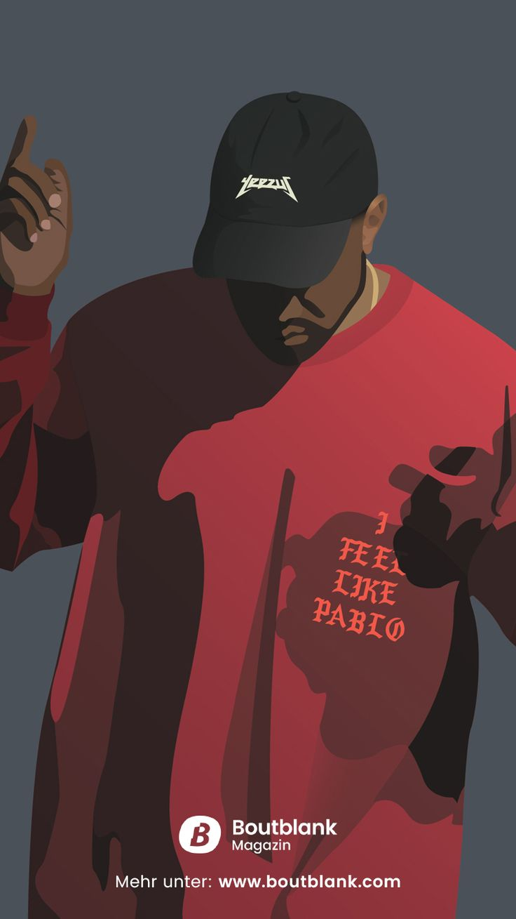 Kanye West HD Wallpaper for iPhone and Android - free download at: https://www.boutblank.com/downloads