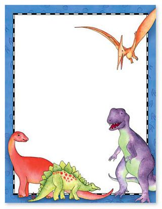 Dynamic Dinos Stationery Letterhead