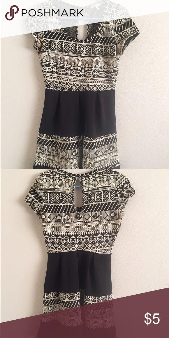 Aztec mini dress Lightly used Dresses Asymmetrical