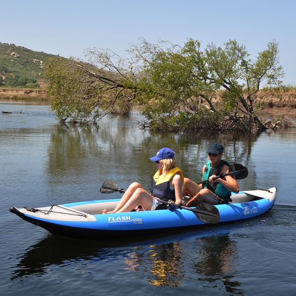 Summer is for lovers! Inflatable for travel..Flash 2 Person Kayak by Solstice