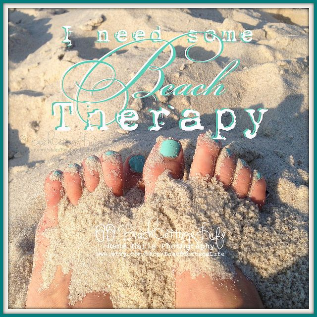 Beach Therapy   Beach Cottage Life   https://www.facebook.com/BeachCottageLifePhotography