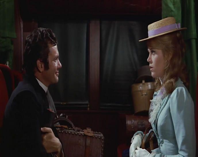 Jane Fonda, Barbarella (1967), with Dwayne Hickman