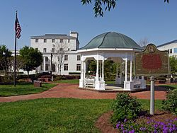 Cannon Park, host to many special events. Gazebo and benches. Open daily 6am – 11pm. Downtown Canton.