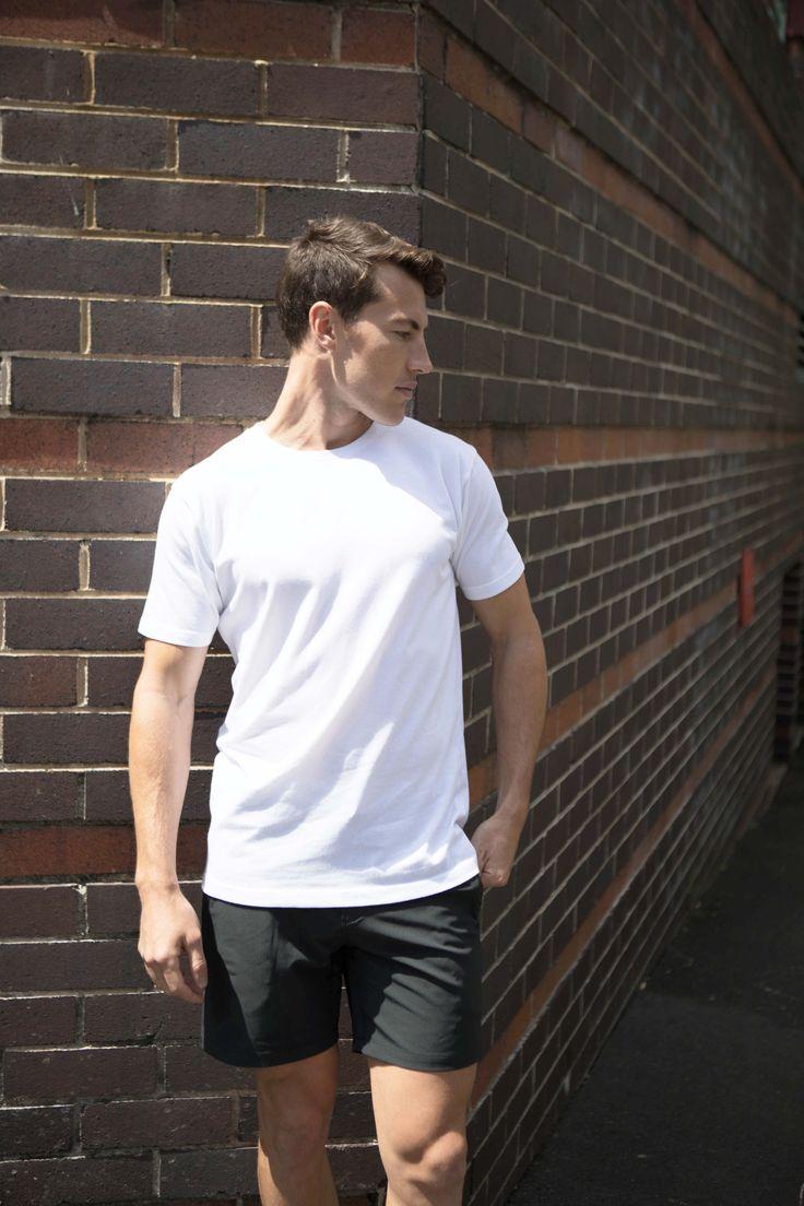 Weekend Style | Non-Stop Shorts | Cobba launch collection | Men's fashion | Men's shorts | Urban men | City life | Urban living | Gym shorts | Everyday Shorts | Manson Black | Kickstarter