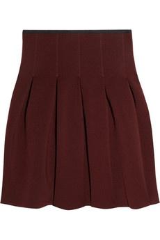 pleated mini skirt: Pleated Minis, Minis Skirts, Wang Pleated Neoprene, Burgundy Skirts, Neoprene Skirts, Neoprene Minis, Mini Skirts, Fall Winte Fashion, Alexander Wang Pleated