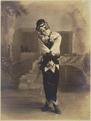 Nijinsky in the role of Petrouchka, ca. 1913