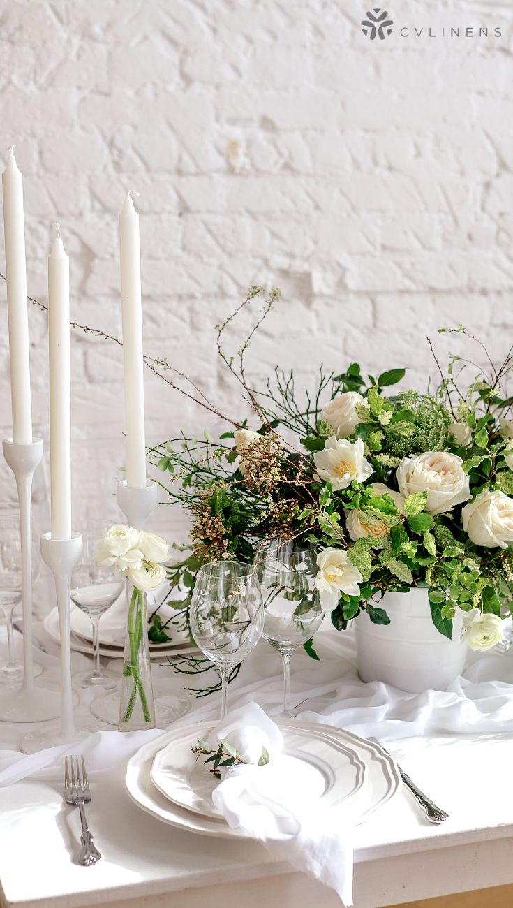 Chiffon Wedding Table Runner 27 X120 White White Weddings Reception White Wedding Table Setting White Wedding Decorations