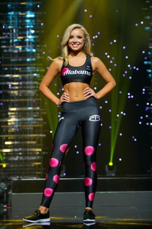 When it comes to the fitness portion of any pageant, the nerves can be scary, but it is all about being confident in your body and being healthy.  The teens looked fit and toned this past year in their swimsuit and fitness wear attires! Here: Miss Alabama Teen USA 2016, Erin Snow. Photo: Miss Teen USA