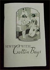 Vintage Book Cotton Feedsack Flour Sack 1937 Booklet Sewing Ideas Projects