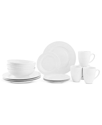 maxwell williams dinnerware white basics studio 16