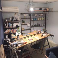 murata15さんの、雑貨,ハンドメイド,観葉植物,男前,DIY,インダストリアル,部屋全体,のお部屋写真