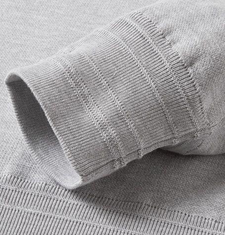 BrioniStretch Cotton and Silk-Blend Sweatshirt