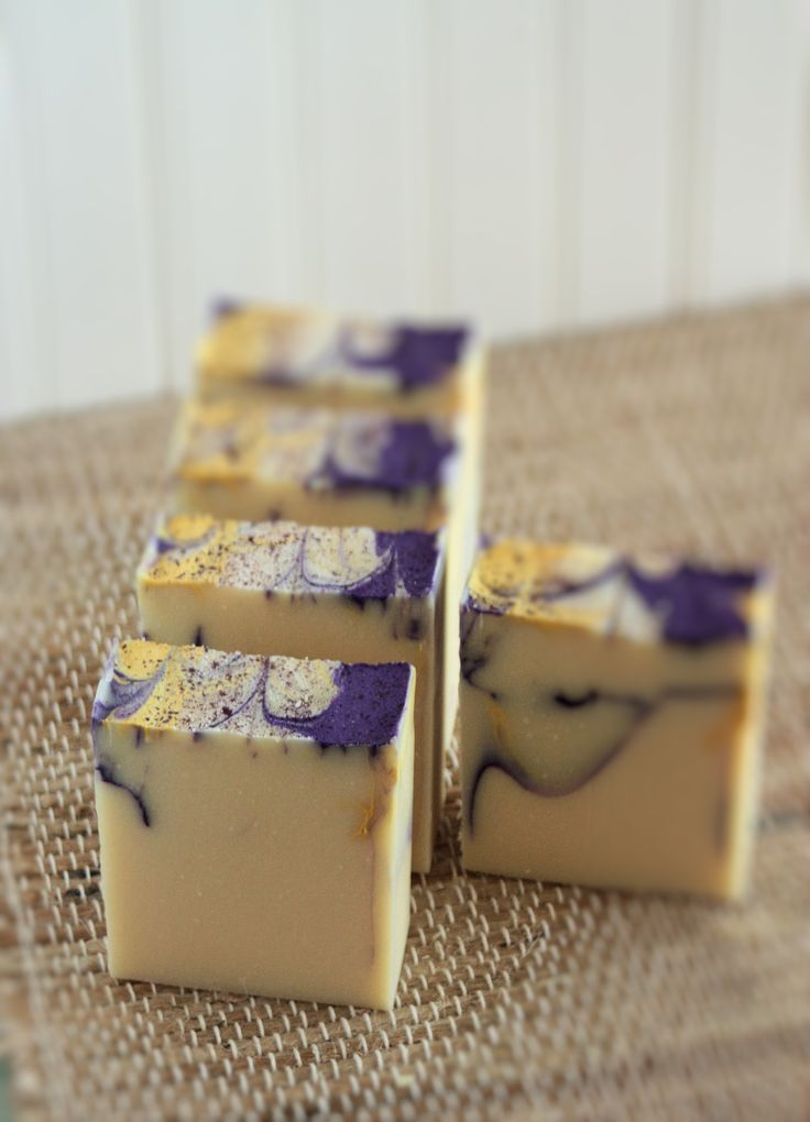 Lemon and Lavender Soap