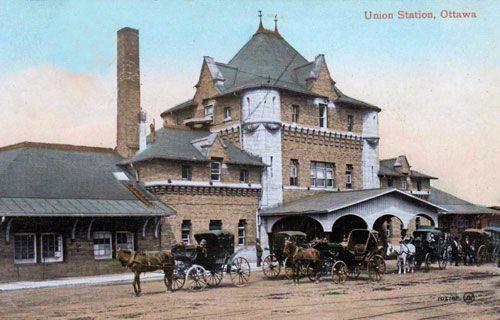 Railway stations in Ottawa Ontario