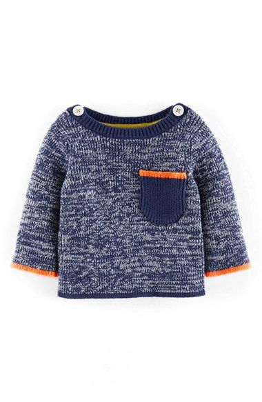 Mini Boden 'Nautical Twist' Knit Sweater (Baby Boys) available at #Nordstrom