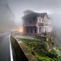 ❦ The luxurious Hotel del Salto opened in 1928 for travelers visiting the Tequendama Falls area, Bogota, Colombia. Situated on the edge of the cliff. The hotel finally closed down in the early 90's and was left abandoned ever since. The fact that many people in the past chose that spot to commit suicide, made others believe that the hotel is haunted.