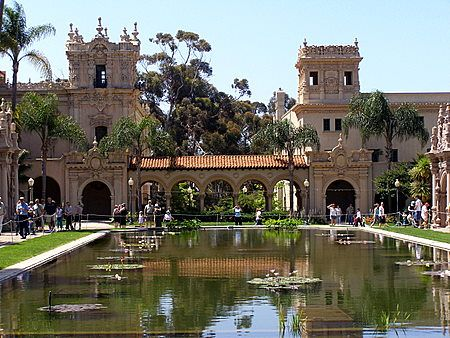 Balboa Park, San Diego.  Used to come here every week with the boys when they were little.  (They came for the model railroads!)
