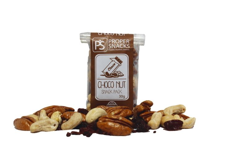 Proper Snacks Choco Nut Snack Pack Happier Healthier Greener snacks delivered to your door. Great for a lunchbox or work desk