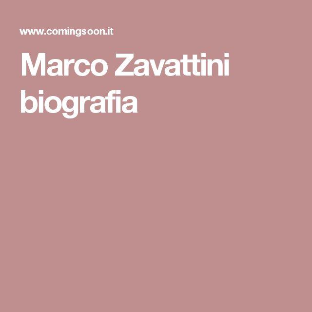 Marco Zavattini biografia
