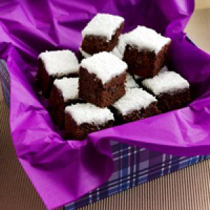 Chokoladekage med kokos opskrift