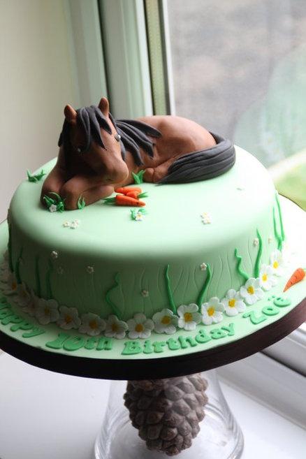Pony Cake  Cake by Ballderdash
