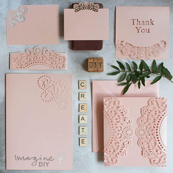 ideas about Diy Wedding Stationery on Pinterest Diy wedding, Wedding ...