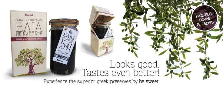 1* Great Taste Award winner, Kalamon Olives & Capers spoon sweet