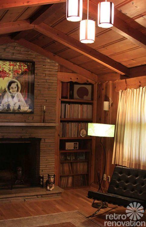 Wood Paneled Den: 18 Best 1950s Knotty Pine Den Images On Pinterest
