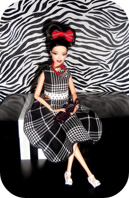 MiniatureCloting: JAPANESE STYLE DRESS FOR BARBIE #studiocyg #miniatureclothing #barbie