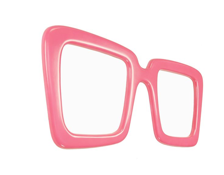 Super modern and fab wall mirror design by marvellous mirrors from Holland. Love the Pink..!