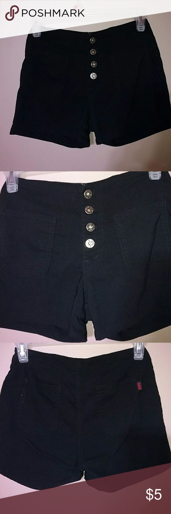 Black Mini Shorts Joy Jeans Black Mini Shorts Joy Jeans Shorts