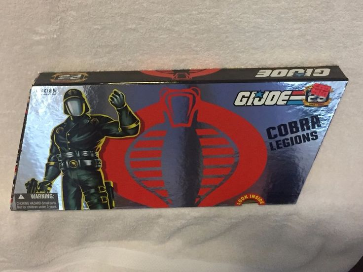 GI Joe Cobra Legions 25TH Anniversary 5 Pack Commander Storm Shadow Air READ #Hasbro