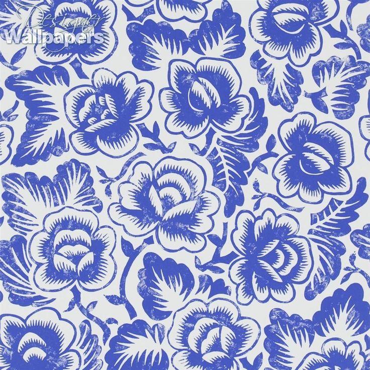 189 Best Designer Wallpapers Floral Wallpaper Images On Pinterest