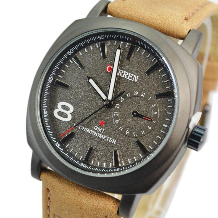 $11.99 (Buy here: https://alitems.com/g/1e8d114494ebda23ff8b16525dc3e8/?i=5&ulp=https%3A%2F%2Fwww.aliexpress.com%2Fitem%2FCURREN-Military-Sport-Watch-Men-s-quality-leather-Swiss-Design-Date-Sport-Watch-digital-sports-men%2F1535824338.html ) CURREN NEW FASHION MEN QUARTZ HOUR DIAL CLOCK LEATHER STRAP WATCHES MEN'S SPORT MILITARY STYLE WATERPROOF WRIST WATCH for just $11.99