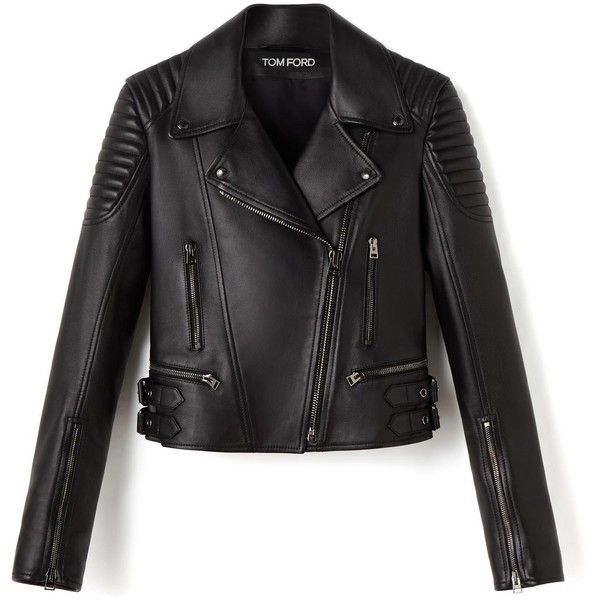 LEATHER BIKER JACKET (65.948.825 IDR) ❤ liked on Polyvore featuring outerwear, jackets, leather moto jackets, summer leather jacket, leather jackets, real leather jackets and rider jacket