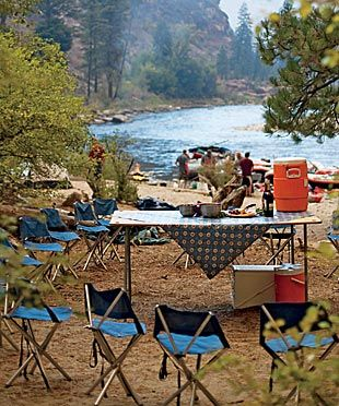 Camping recipe ideas...I can't wait for summer so I can try some of these out!