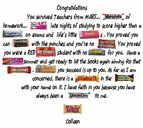 Best 25+ Candy poems ideas on Pinterest | Candy cards ...
