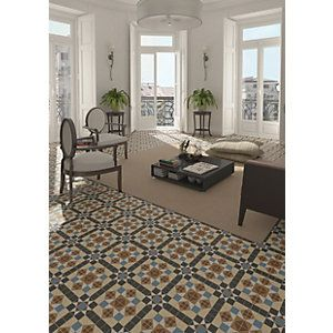 Wickes Dorset Marron Floor Tile 316x316mm