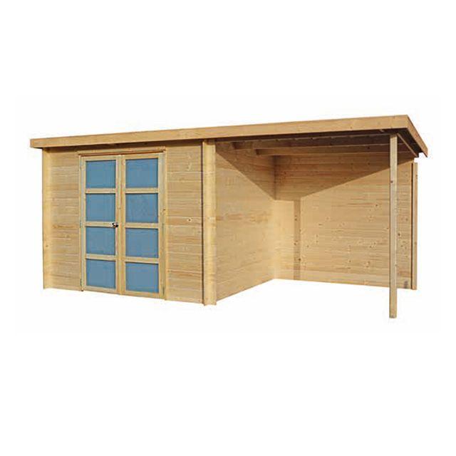 abri de jardin casto Abri de jardin en bois Umea + Pergola | Bijoux pas cher | Pergola,  Beautiful home designs et House design
