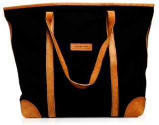Large Tote in Black Canvas    £85.00      Also available in Loomstate Canvas,