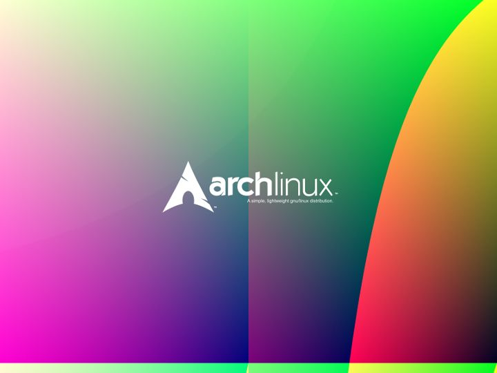 Colorful Archlinux Wallpaper1