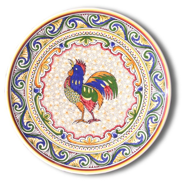 Rooster plate for mini kitchen  sc 1 st  Pinterest & 115 best Paper Plates images on Pinterest | Printables Bottle cap ...