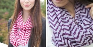 Chevron Infinity Scarves! 18 Styles Available!!   Jane