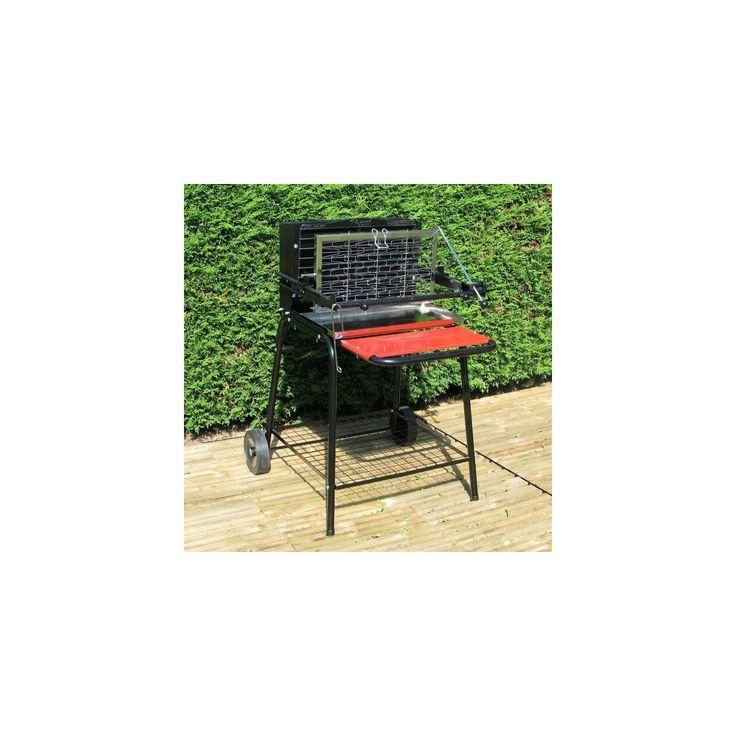 Somagic - Barbecue à foyer vertical au charbon de bois Raymond - pas cher Achat / Vente Barbecues charbon de bois - RueDuCommerce