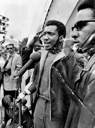 "sekoi:    alltripe:    ""Dare to Struggle, Dare to Win. If you don't struggle, damn it, you don't deserve to win!"" - Fred Hampton.    BLACK PANTHER MOVEMENT!"