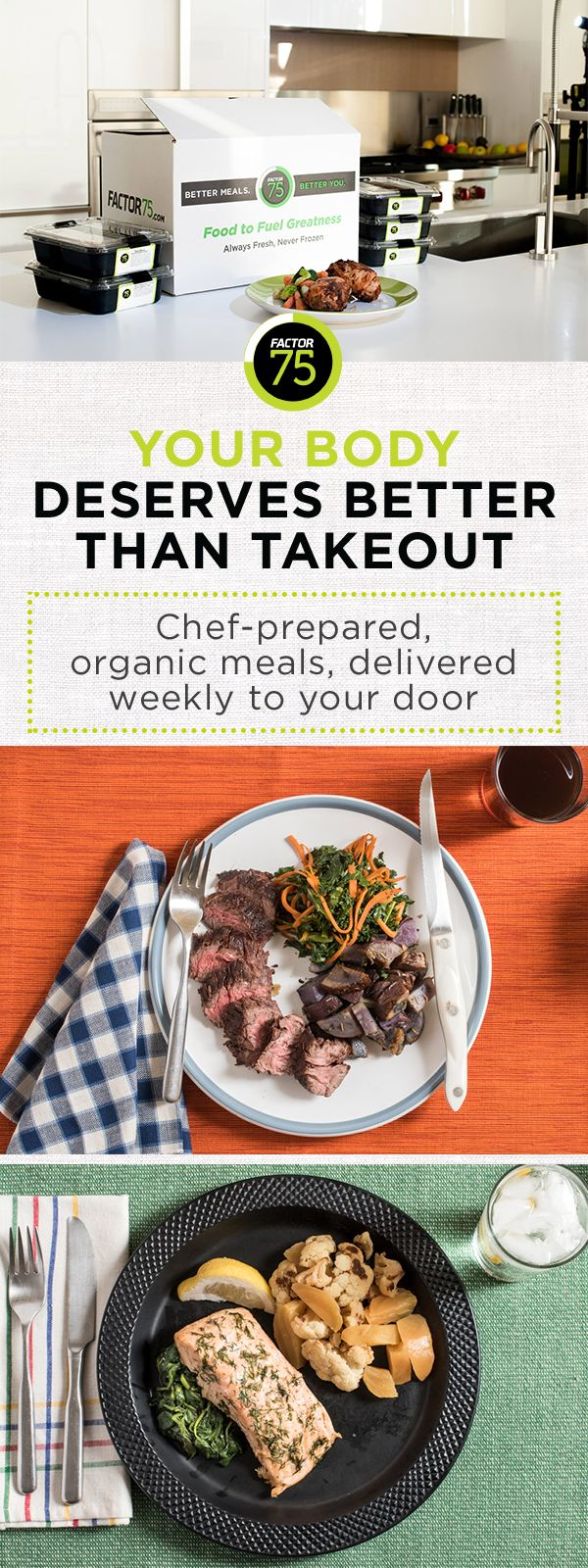 Best 25 healthy meals delivered ideas on pinterest home factor 75 is a simple way of deciding to eat food that improves how your mind forumfinder Images
