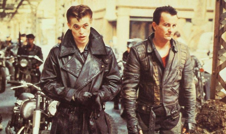 Streets of Fire - that leather trench coat!